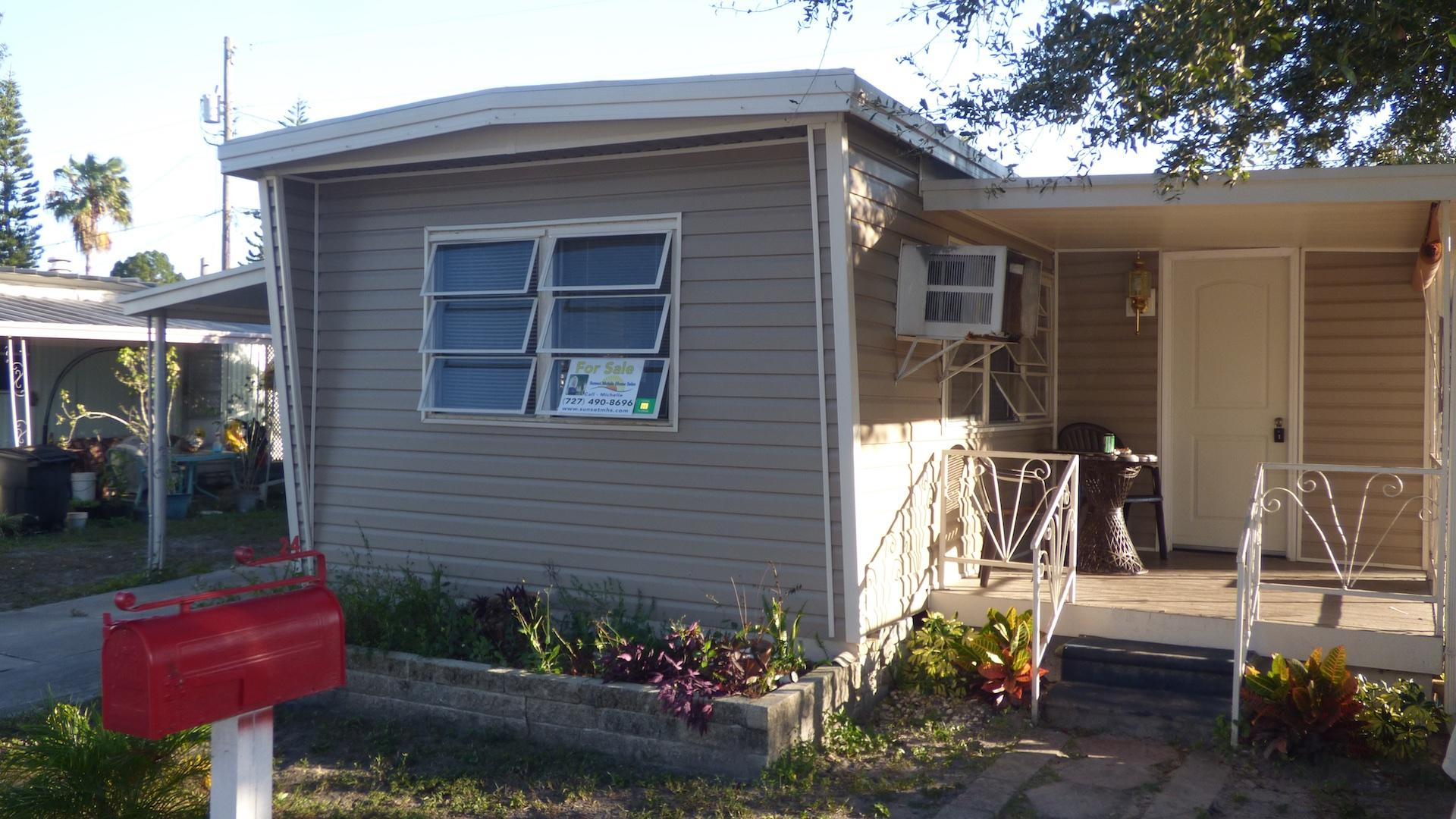 Great Price and LOW LOT RENT Sunset Mobile Home Sales