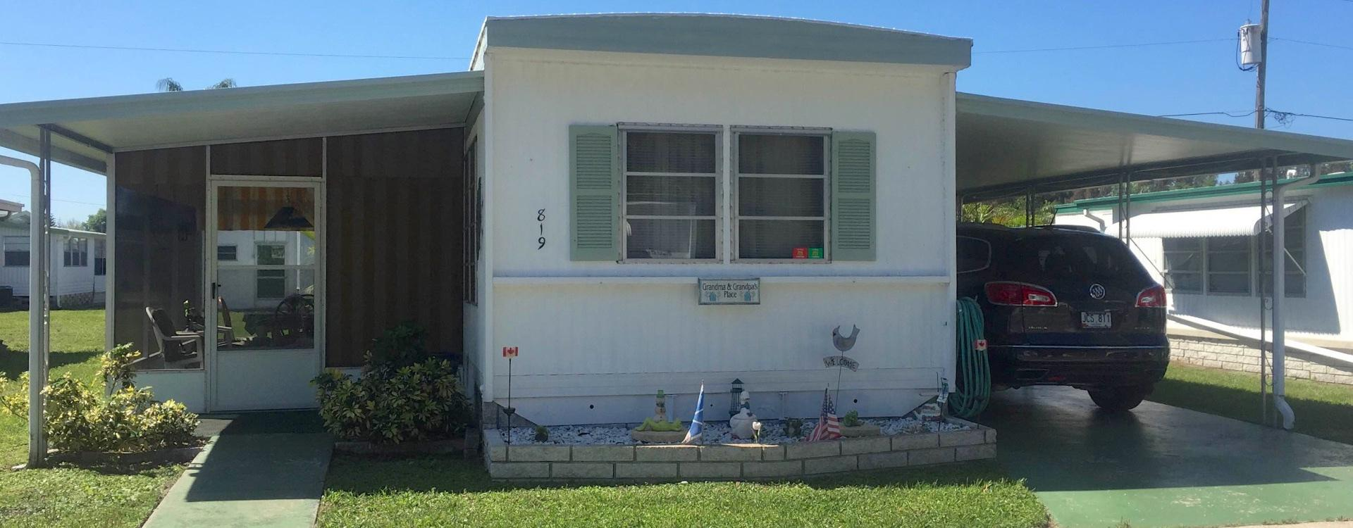 City Of New Port Richey >> Mobile Home For Sale - Clearwater, FL Embassy MHP #819