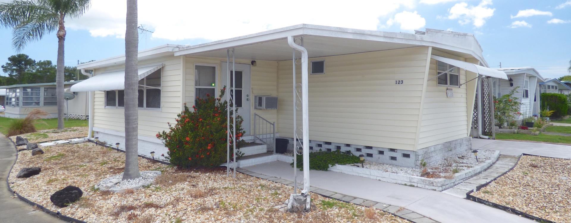 City Of New Port Richey >> Mobile Home For Sale - Largo, FL Four Seasons Estates #123