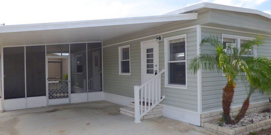 ADORABLE HOME WITH LOW LOT RENT OF 408 13500