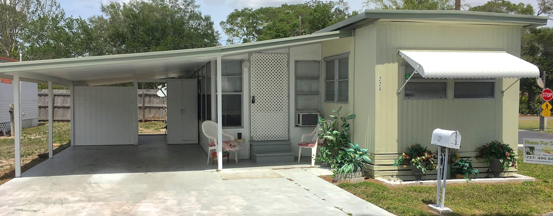 Mobile Home For Sale Saint Petersburg Fl Patio Village 224