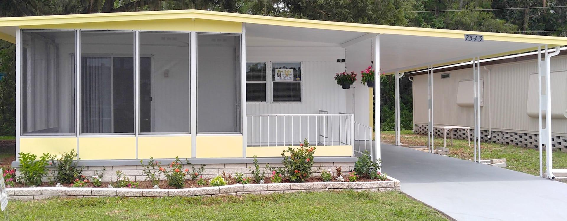 Mobile Homes For Sale Hacienda Village New Port Richey Fl