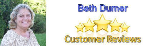 Beth Durner 5 star reviews - Beth Durner - Reviews