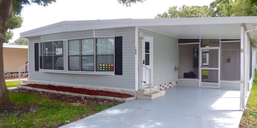 Palm Harbor Homes For Sale >> Mobile Home For Sale | Largo, FL | Paradise Park #104