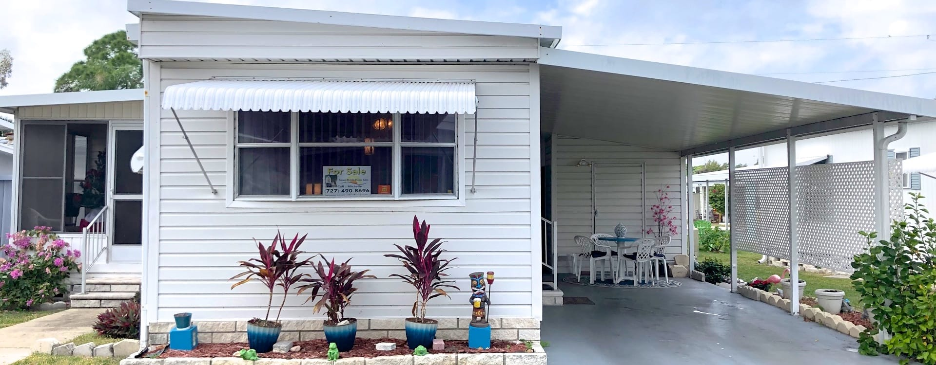 Mobile Home For Sale | Saint Petersburg, FL | Isle Of Palms #242