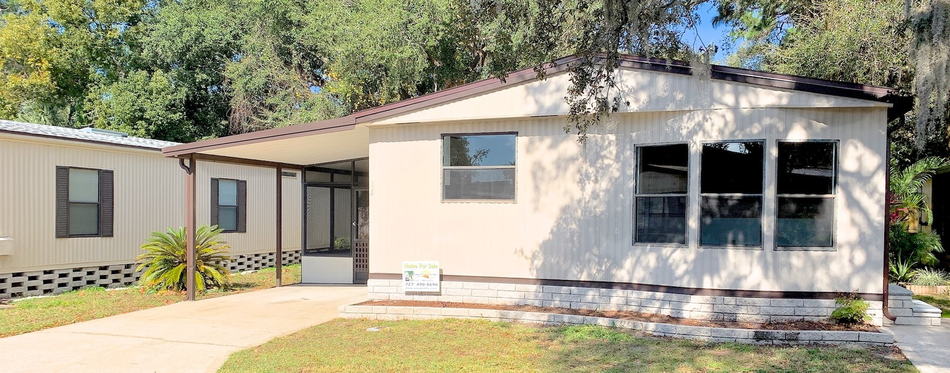 Mobile Home For Sale Holiday Fl Anclote Acres 14