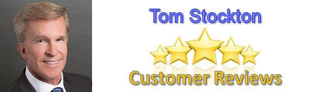 Tom Stockton 5 star reviews - Tom Stockton - Reviews